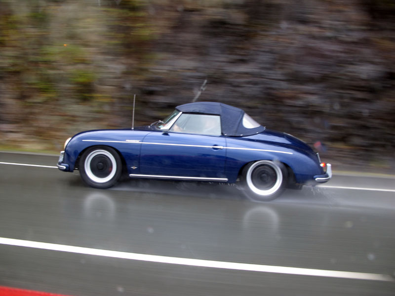 Braving the rain for Thanksgiving Run | Classic Car Adventures